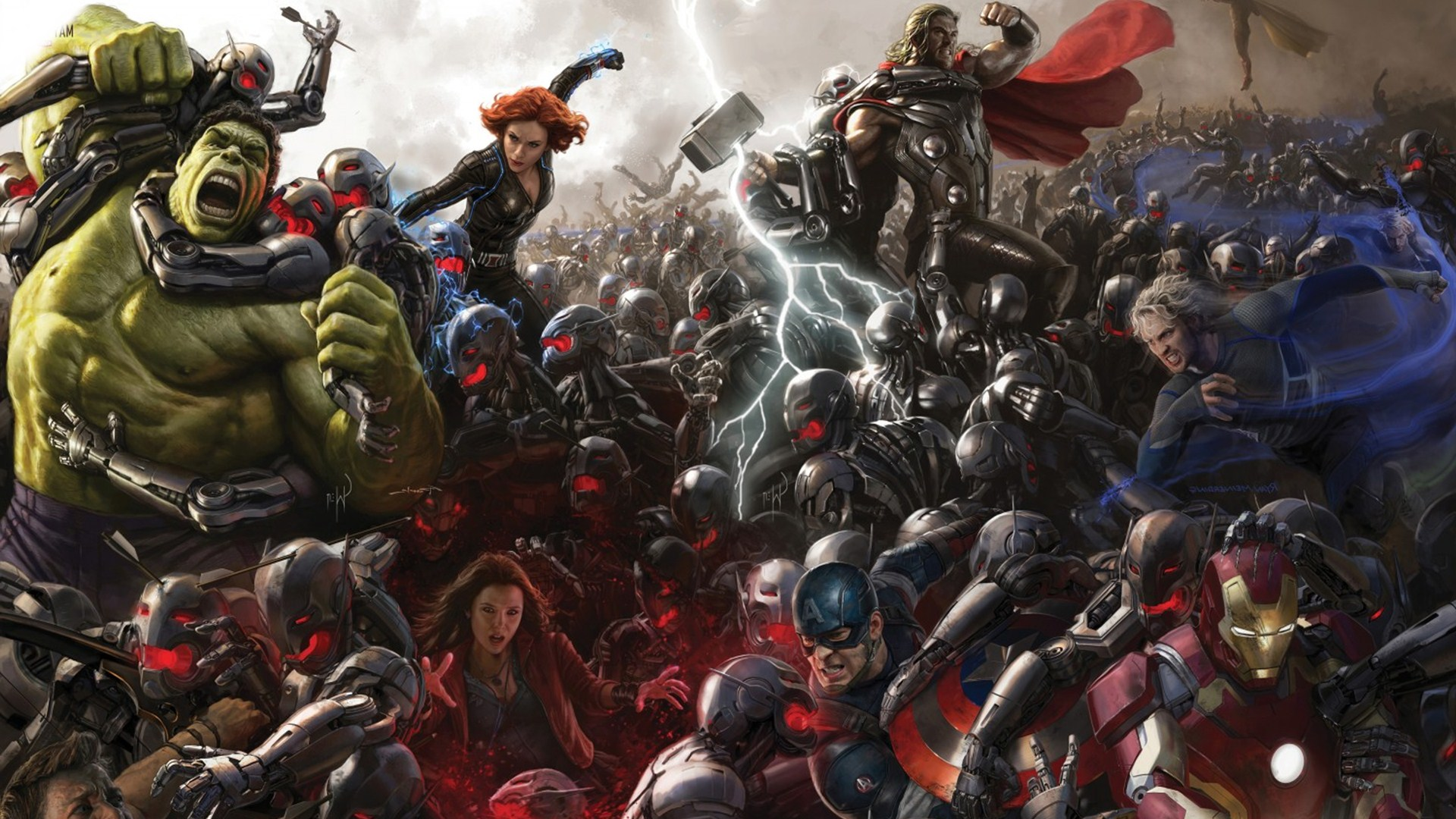Awesome K Avengers Age of Ultron Wallpaper  Free K Wallpaper 1920x1080