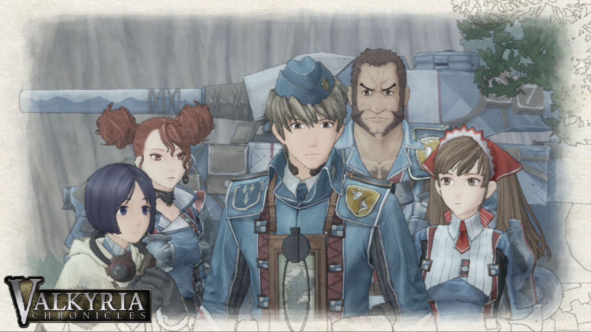 Valkyria Chronicles II psp by EvannGeo on DeviantArt 1920x1080