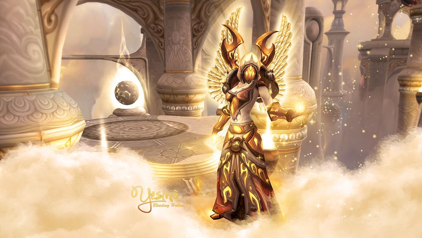 Wallpaperswide World Of Warcraft Wallpaper Paladin Wallpaper