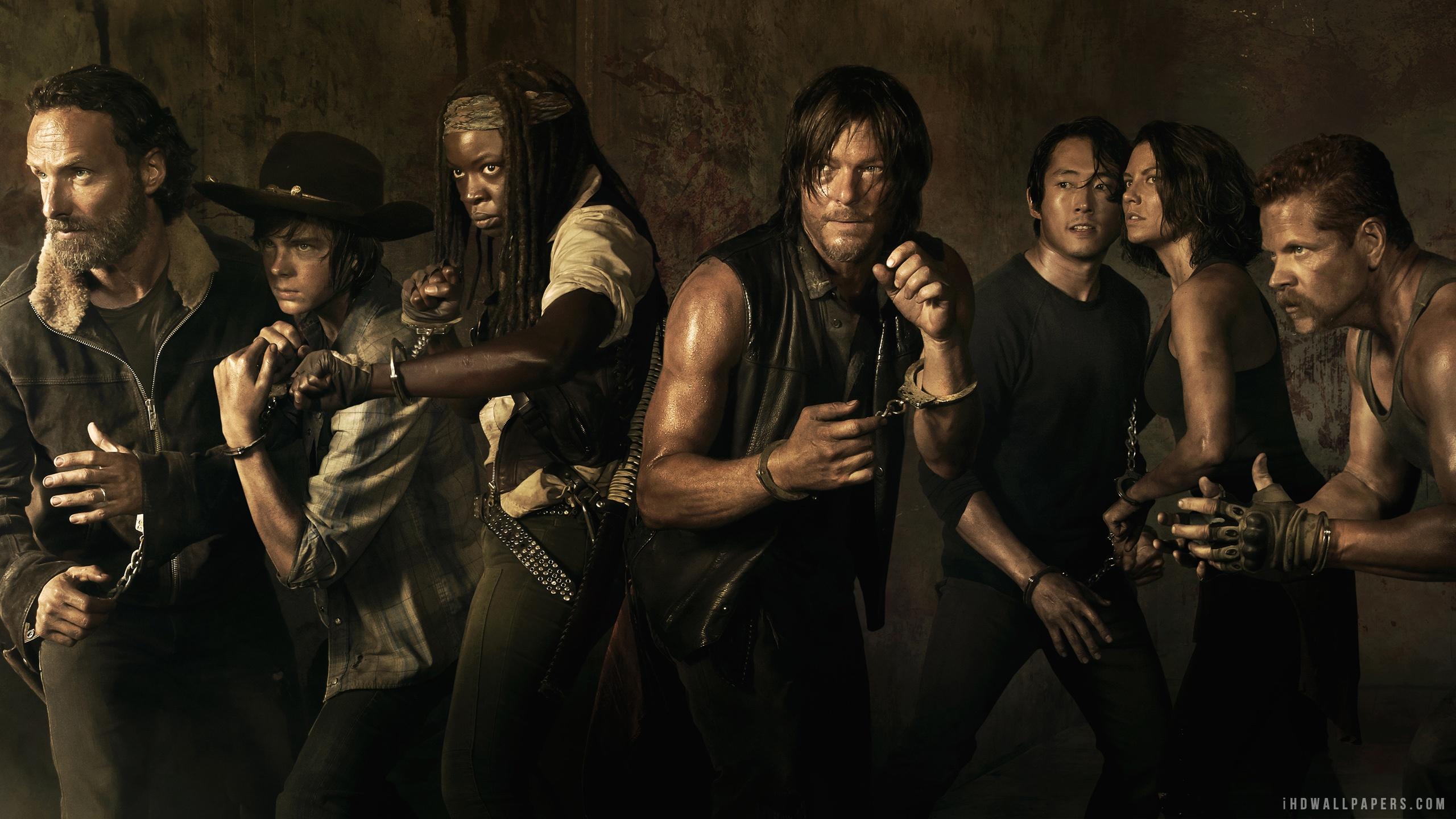 The Walking Dead Season Rick Hd Wallpaper Ihd Wallpapers 2560x1440