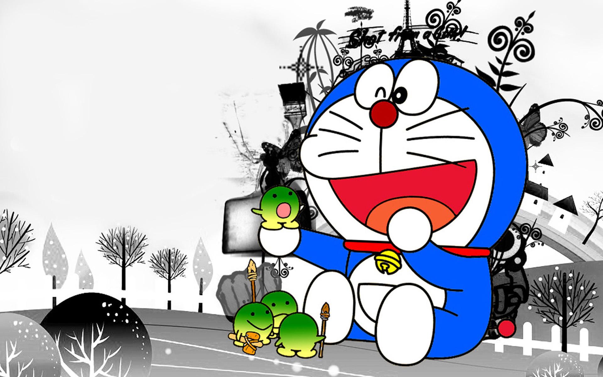 Gambar Doraemon Buat Wallpaper Hp