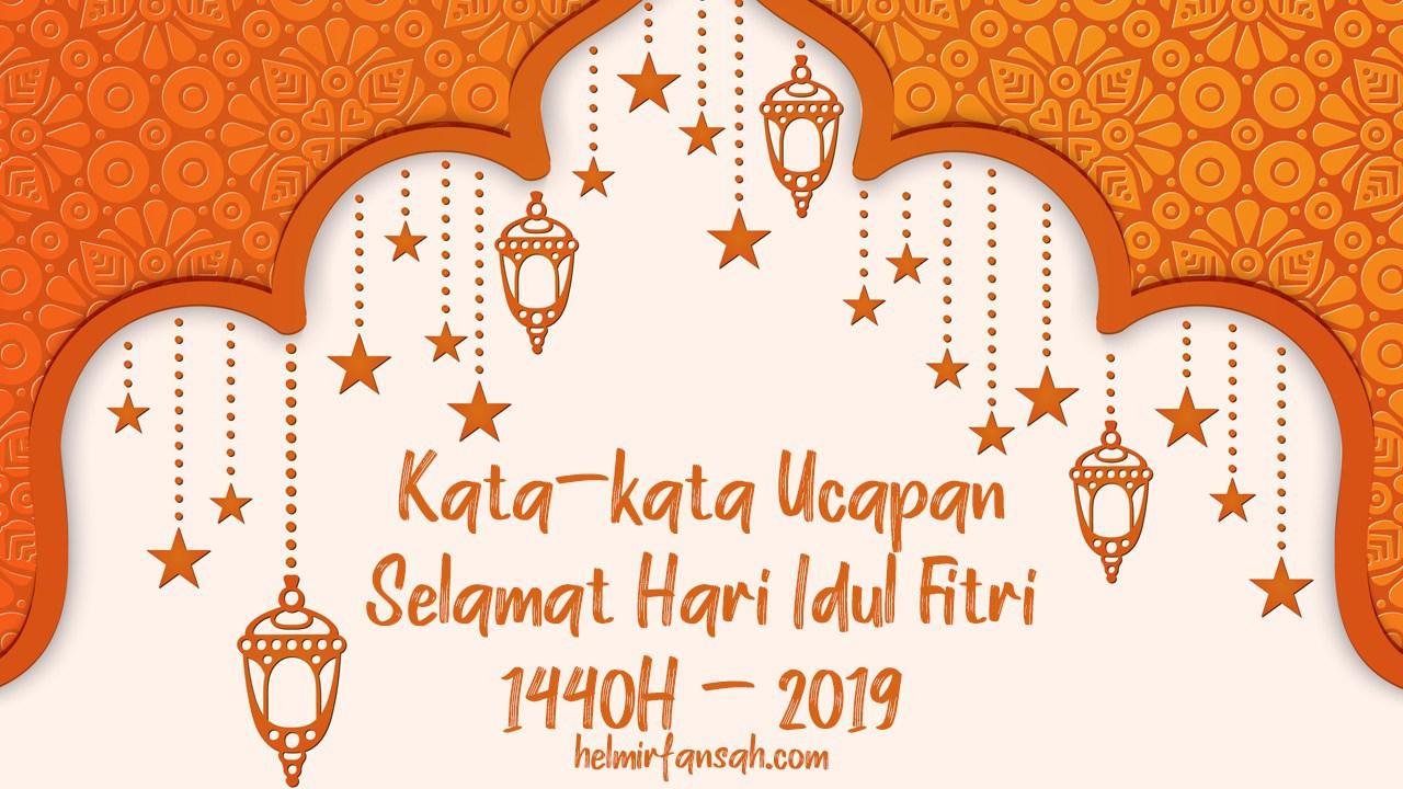 Ucapan Idul Fitri 2019 Cdr - kartu ucapan terbaik