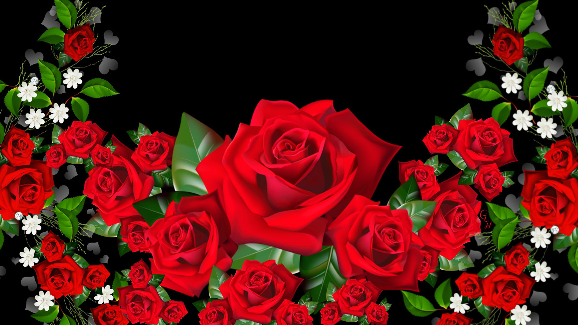 3d Hd Rose Wallpaper Download