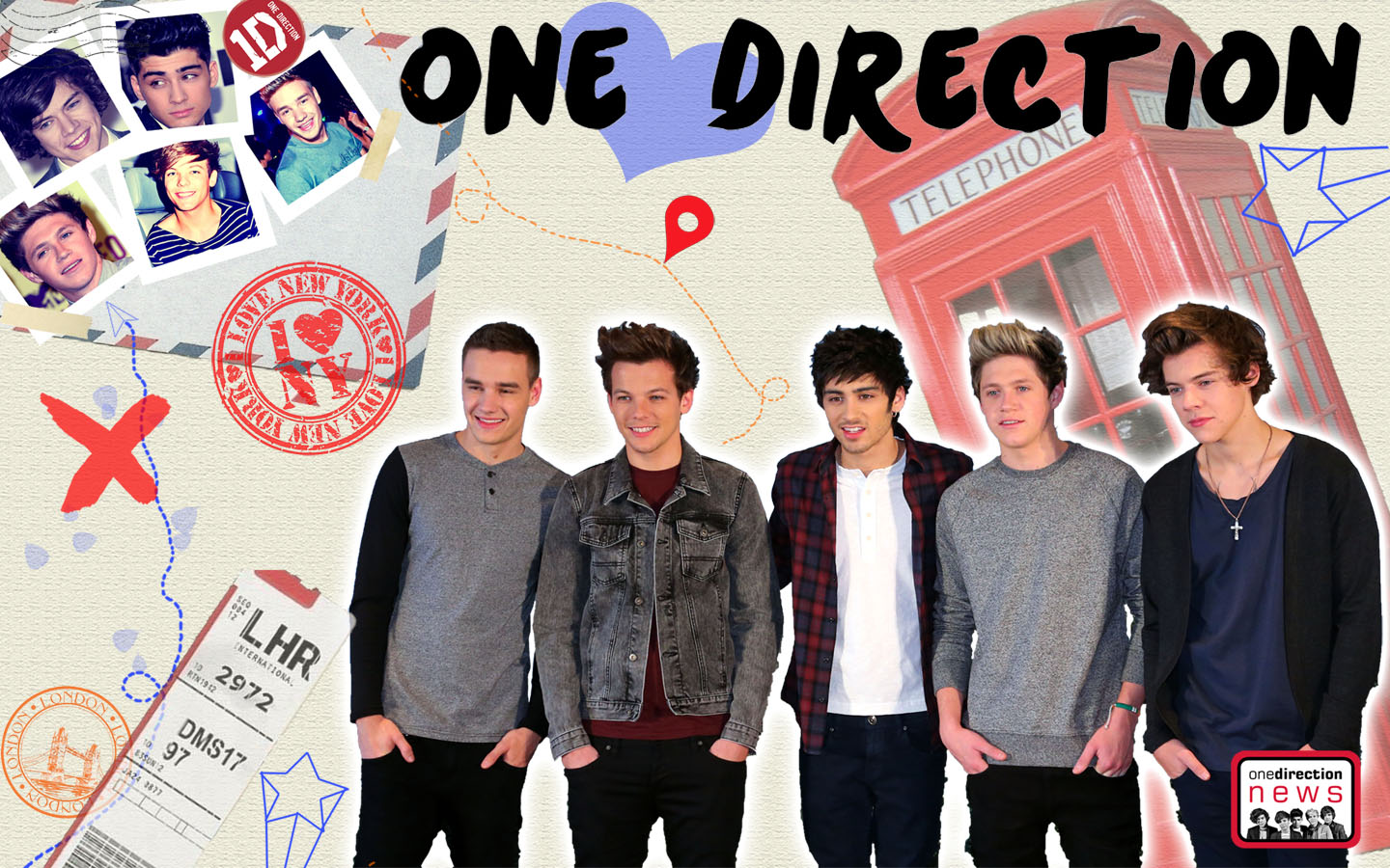 Tumblr collages one direction images amp pictures becuo - Wallpaper One Direction 52 Wallpapers