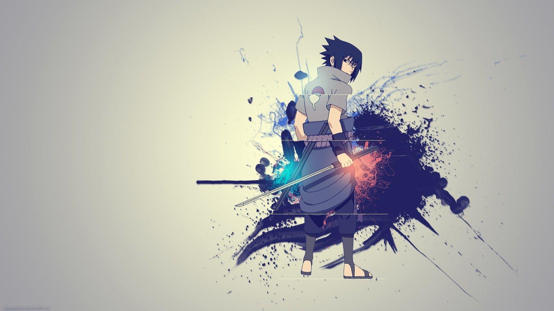 Wallpaper Sasuke 001
