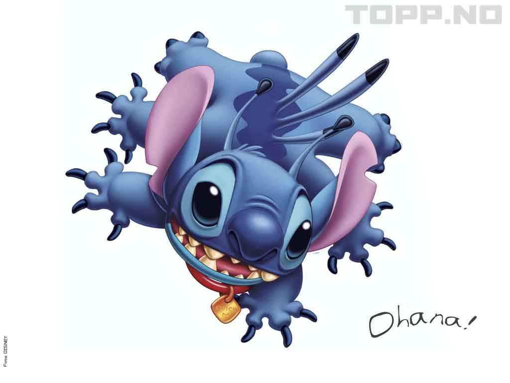 Cute Lilo and Stitch Wallpaper   1024x768