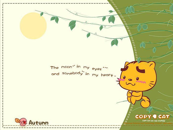 Cute Cat Cartoon Iphone S Wallpaper Download Iphone Wallpapers 700x525