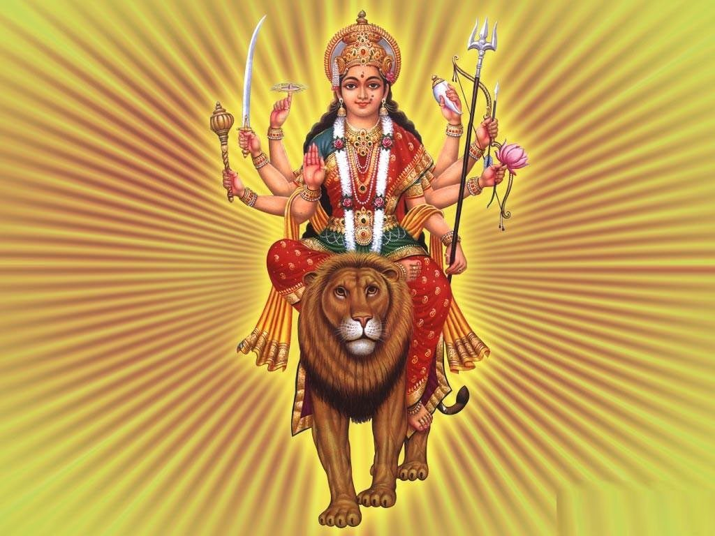 Download Maa Durga  X Wallpapers