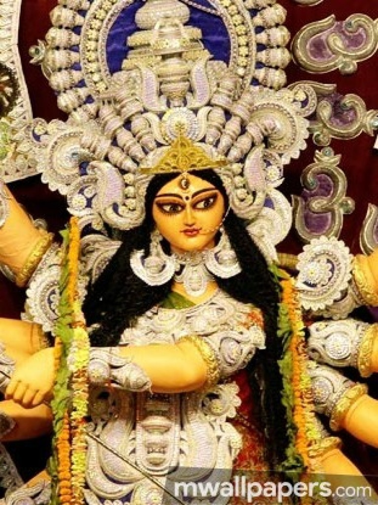 Maa Durga Hd Wallpaper For Mobile  vel