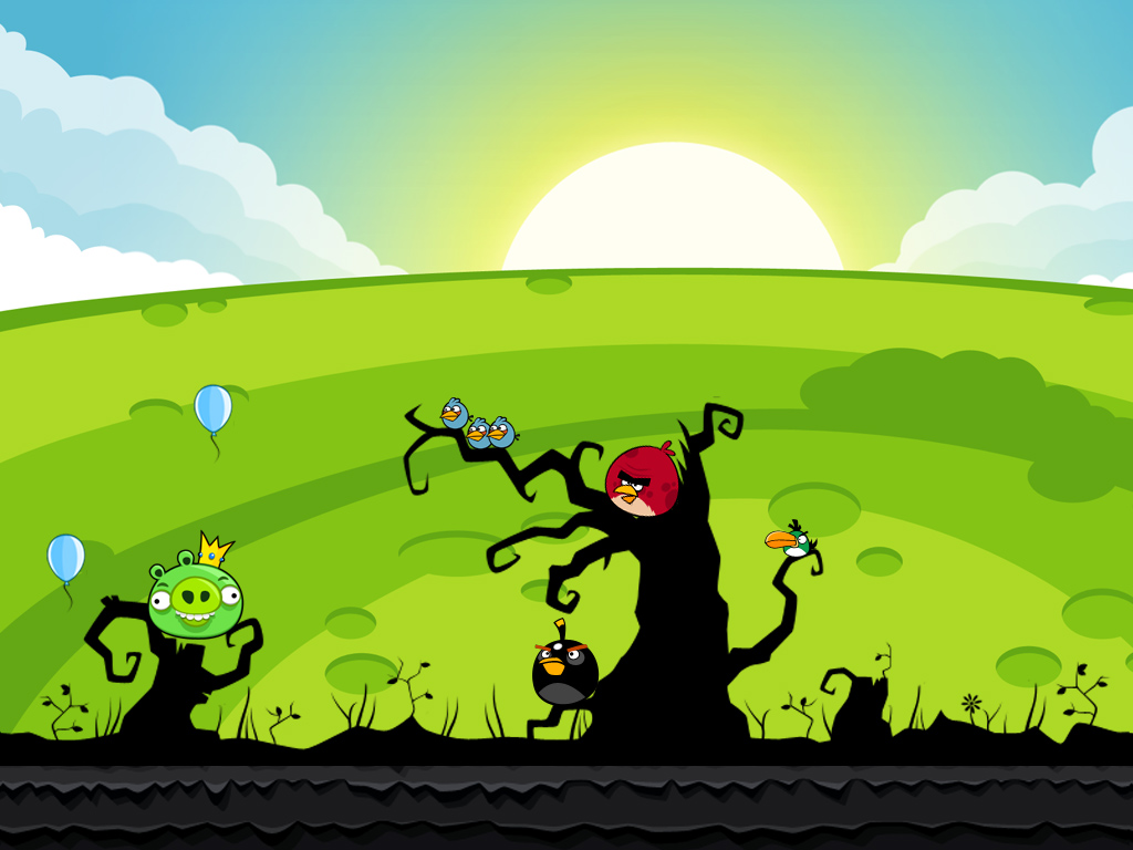 Free Angry Birds D Wallpaper APK Download For Android GetJar 1024x768