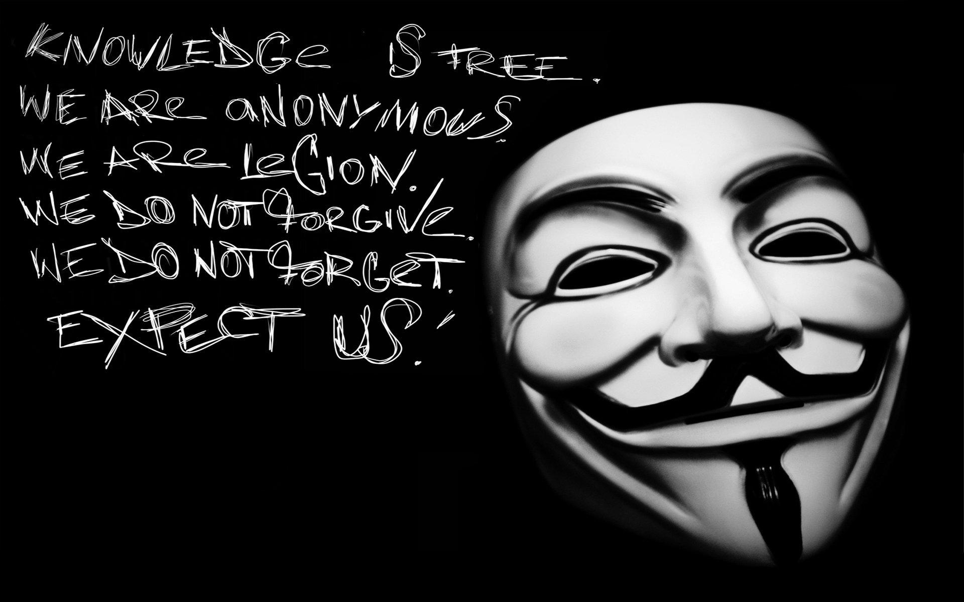 Download Cool Anonymous Hackers Wallpaper  Full HD Wallpapers 1920x1200
