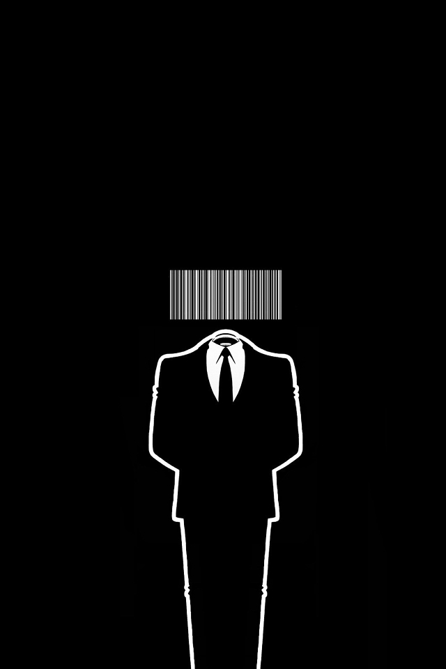 Anonymous Wallpaper  ID: 640x960