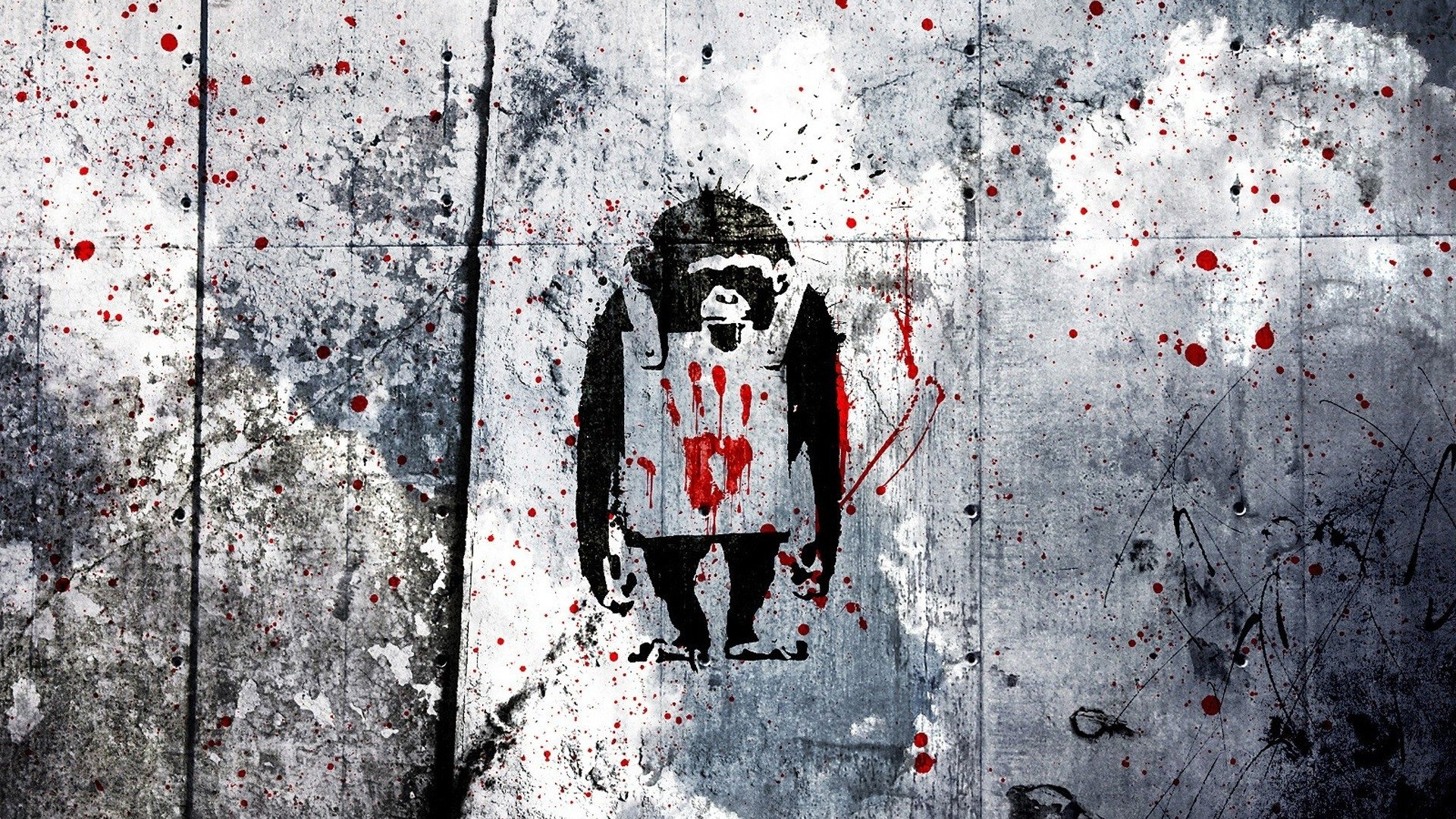 Banksy Graffiti Wallpaper 1920x1080