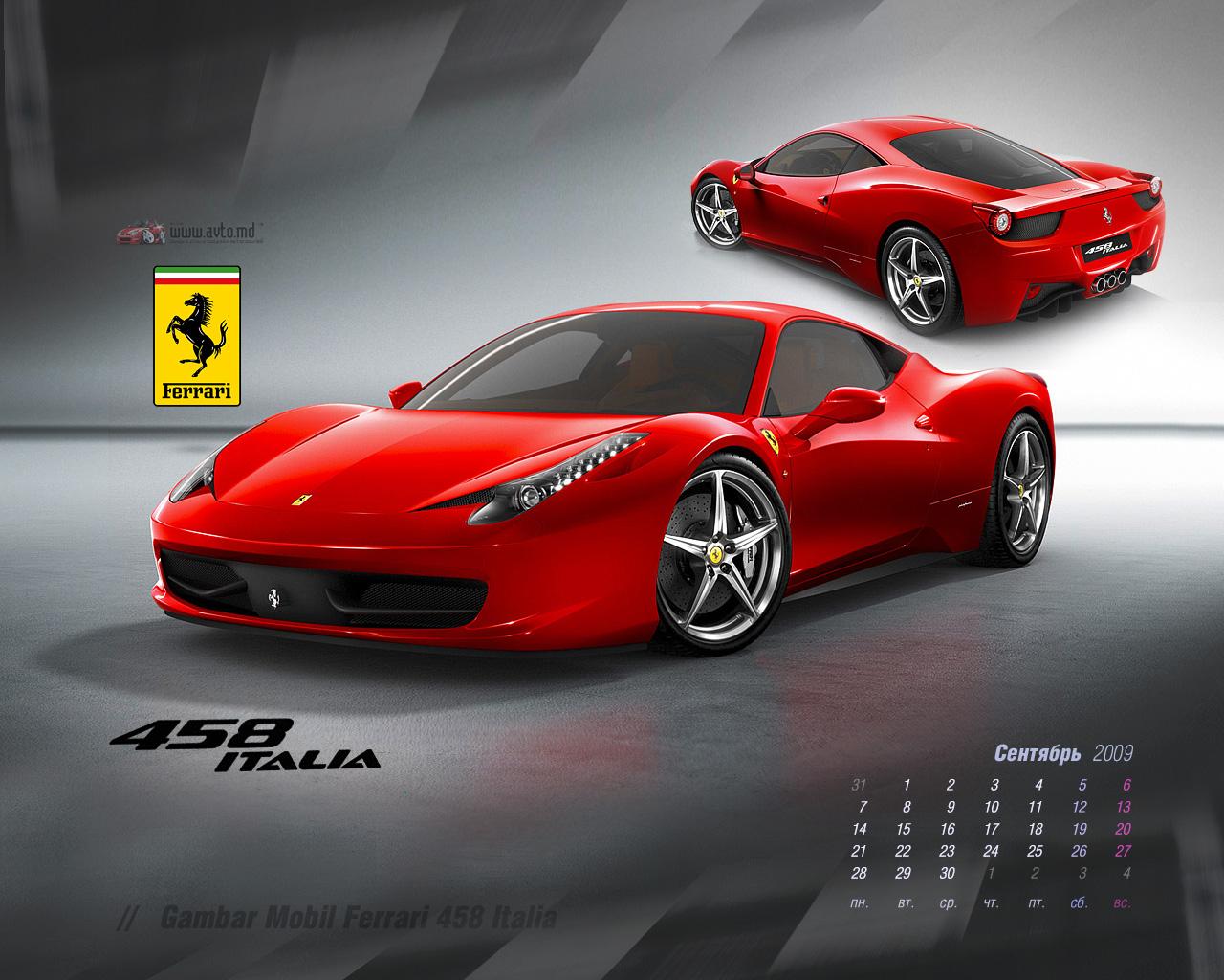 Wallpaper Mobil Sport Ferrari: Wallpapers Mobil Ferrari (40 Wallpapers)