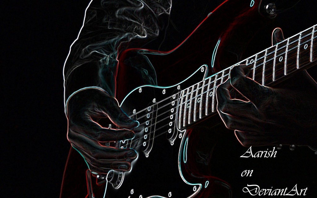 Wallpapers Guitars  1024x640