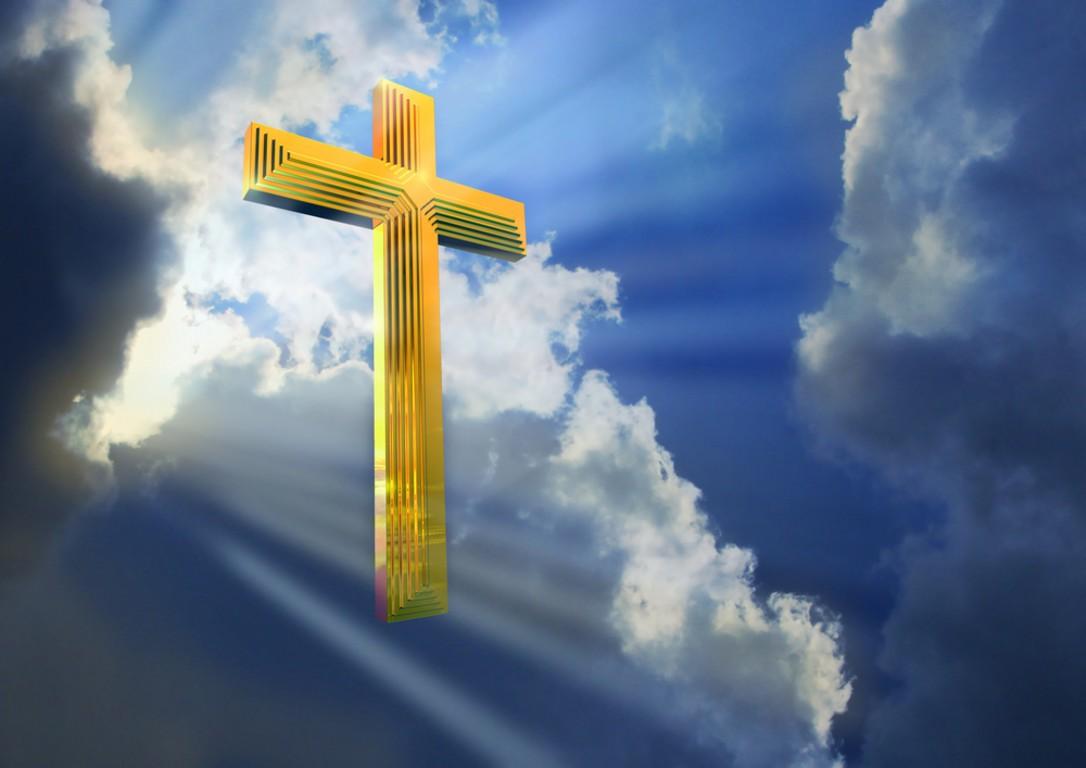 Нарисованная, картинка христианские