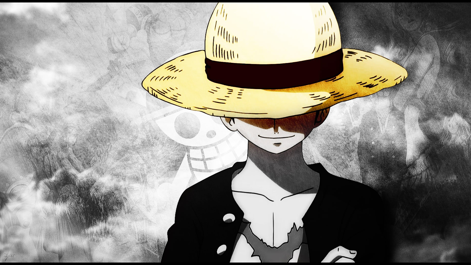 Monkey D Wallpaper One Piece Luffy   1920x1080