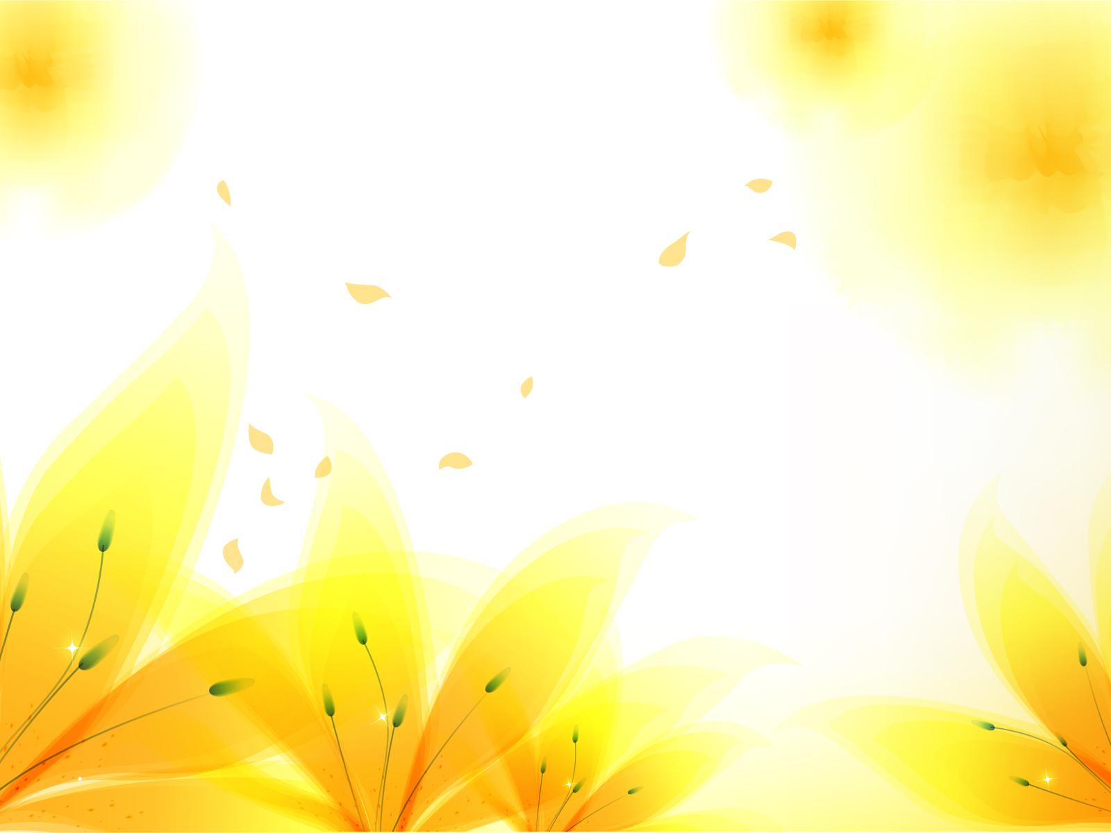 Beautiful Yellow Flower Hd Desktop Wallpaper High Definition
