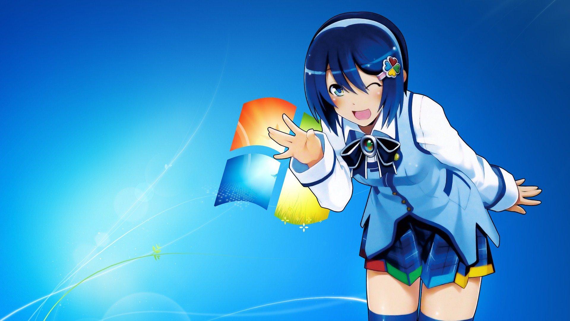Windows 7 Cartoon Wallpapers 40 Wallpapers Adorable