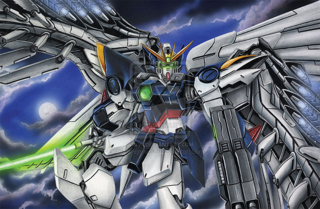 Wing Zero Wallpapers 50 Wallpapers Adorable Wallpapers