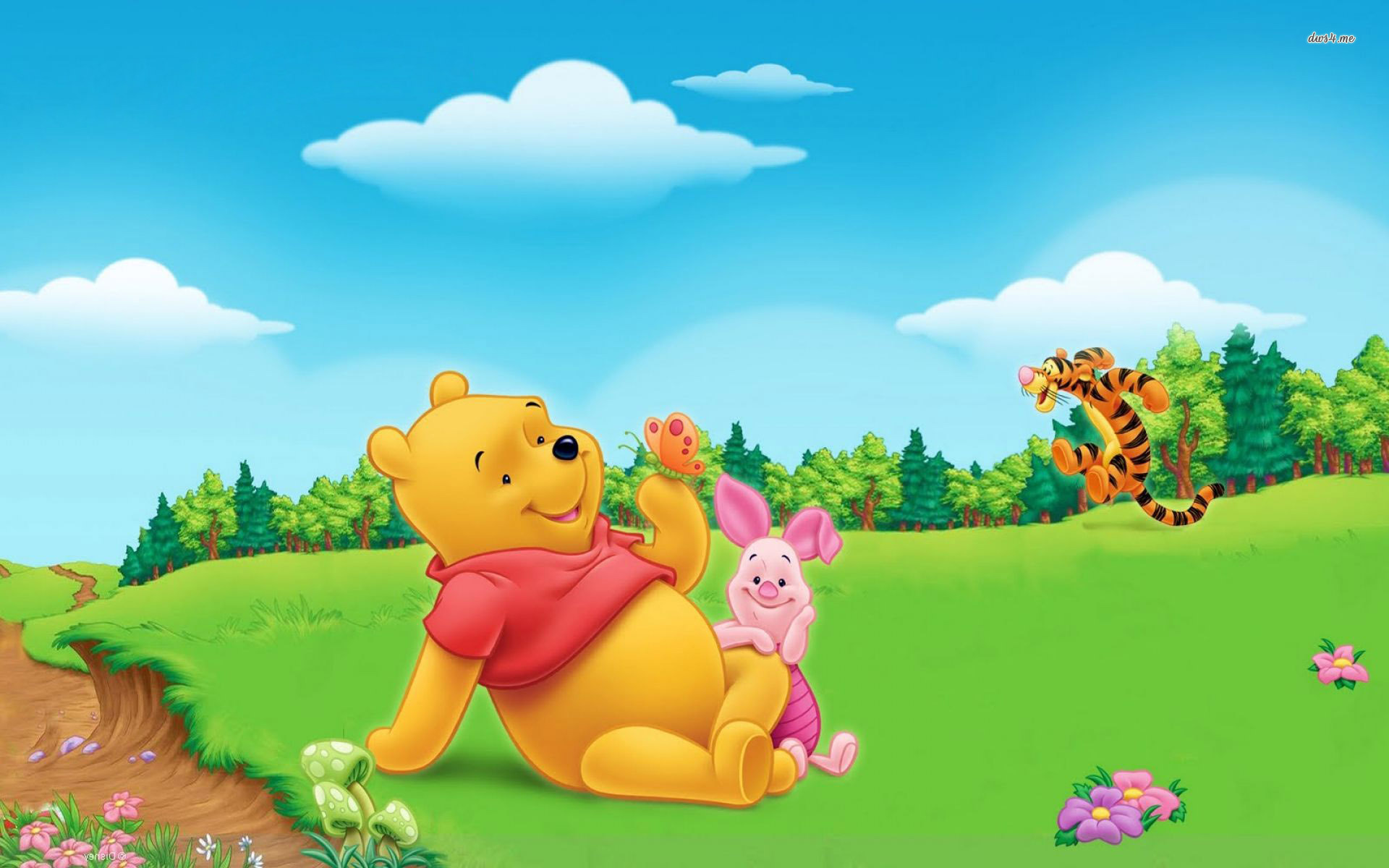 Images About Winnie The Pooh Wallpapers On Pinterest 1920x1200