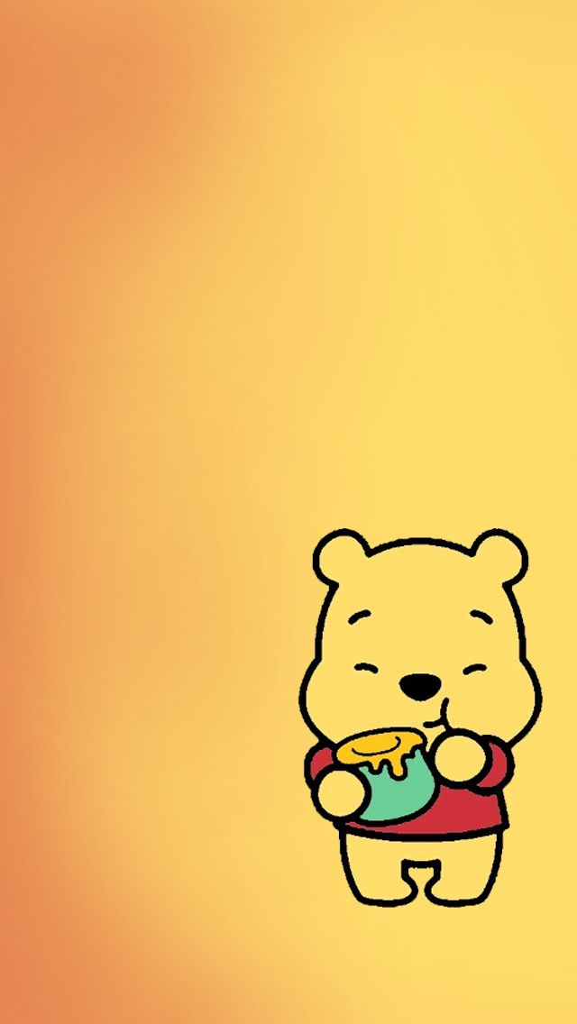 Download Winnie The Pooh wallpapers to your cell phone baby cute