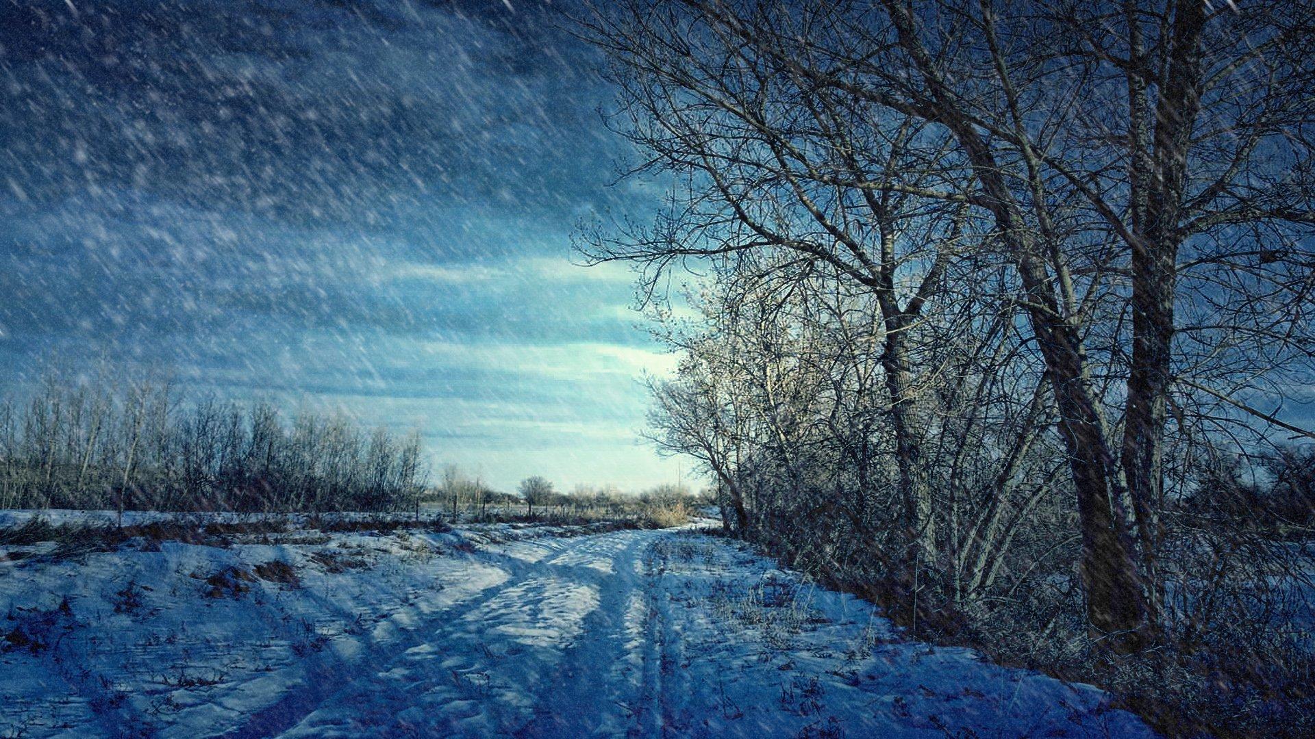 Winter Scenes Wallpaper Desktop 1920x1080