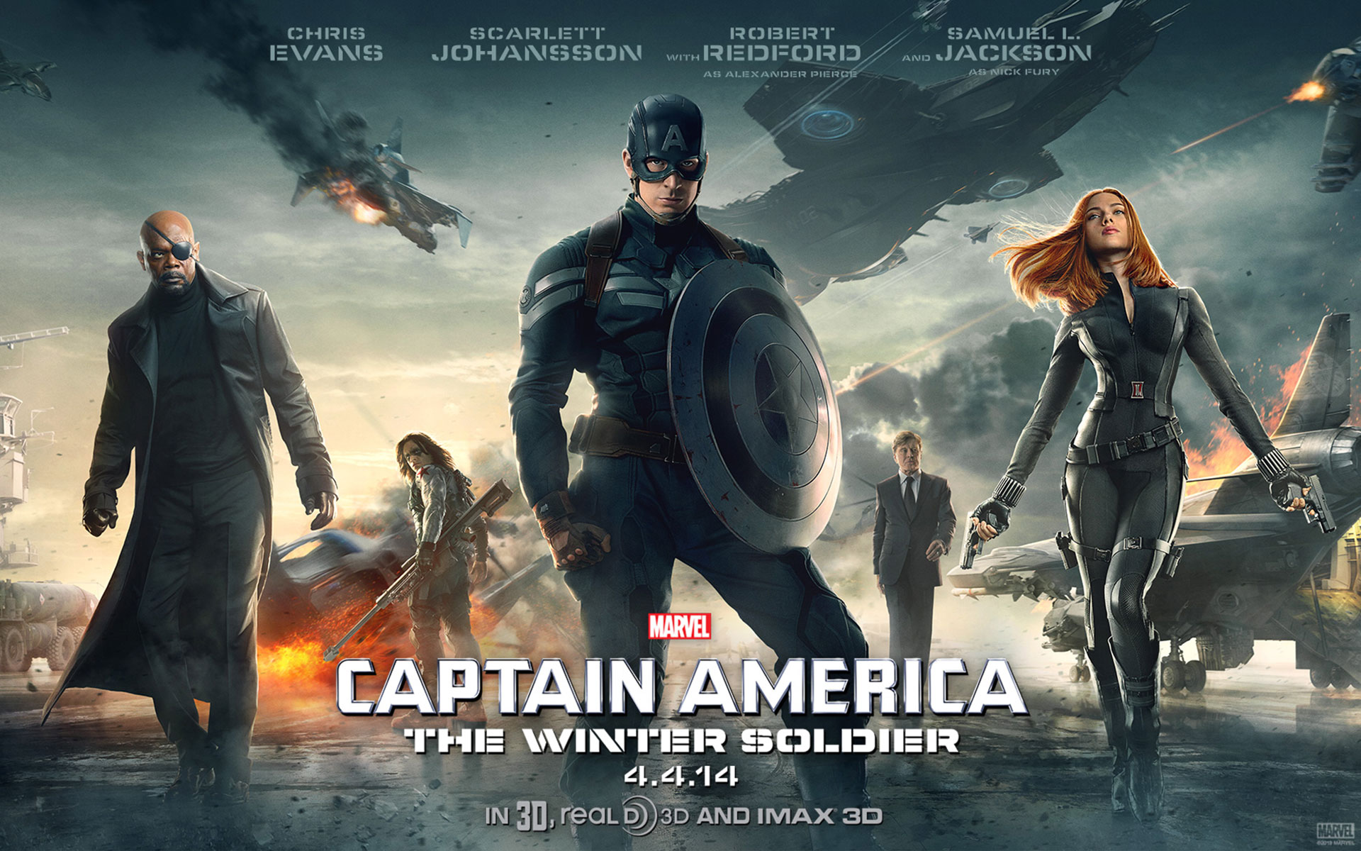 Captain America Winter Soldier Wallpaper Free Mytwiink