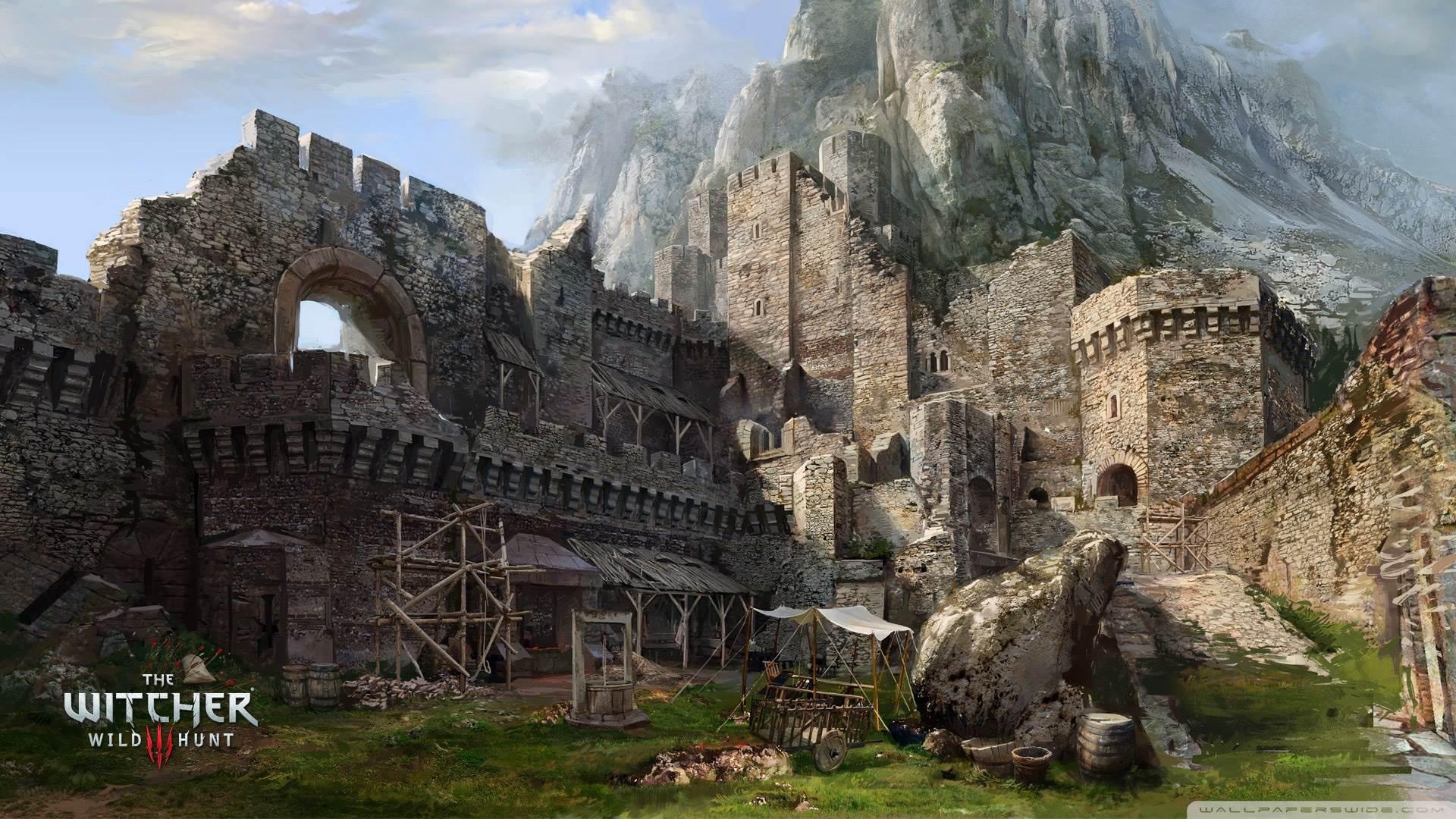 The Witcher 3 Wild Vedmak Hd Desktop Wallpaper Widescreen High