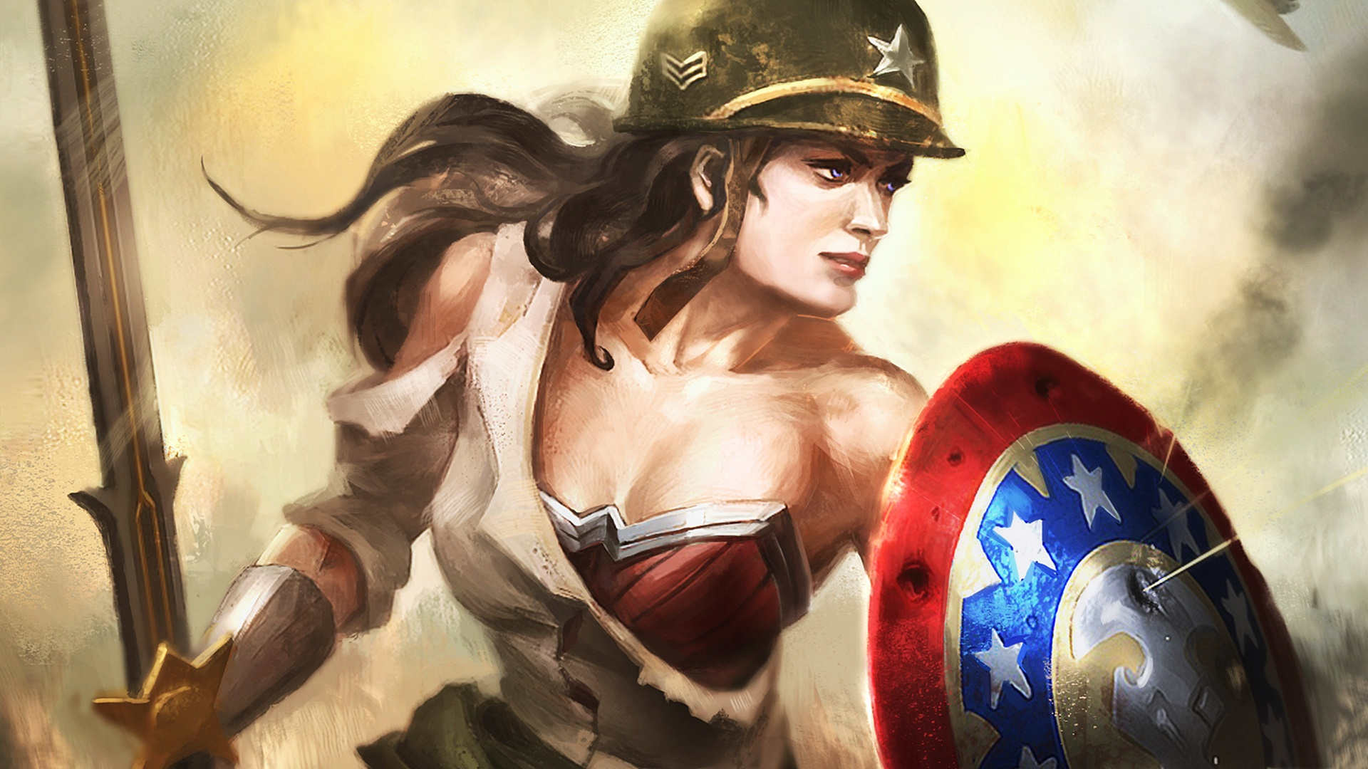 Wonder Woman HD Wallpapers  Backgrounds  Wallpaper  1920x1080