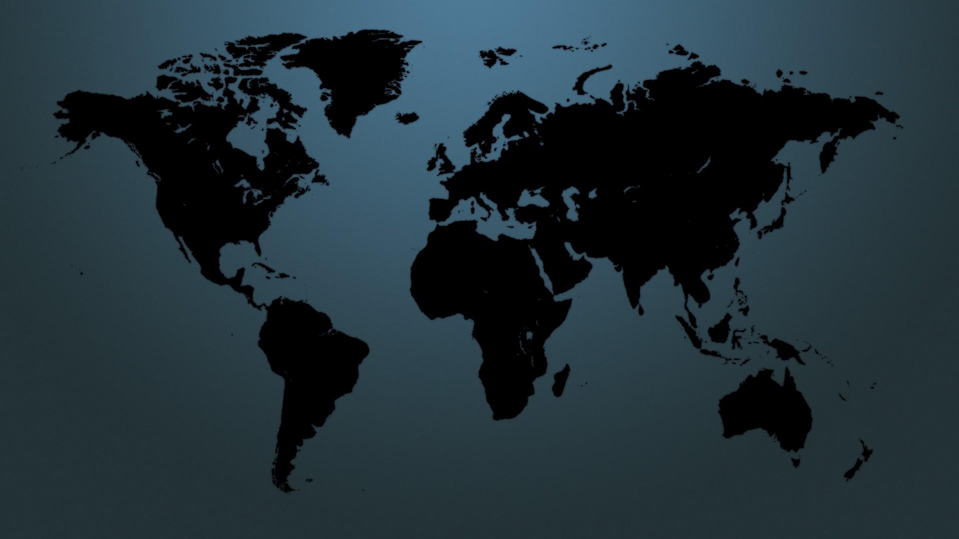 World Map Full HD Widescreen wallpapers for desktop