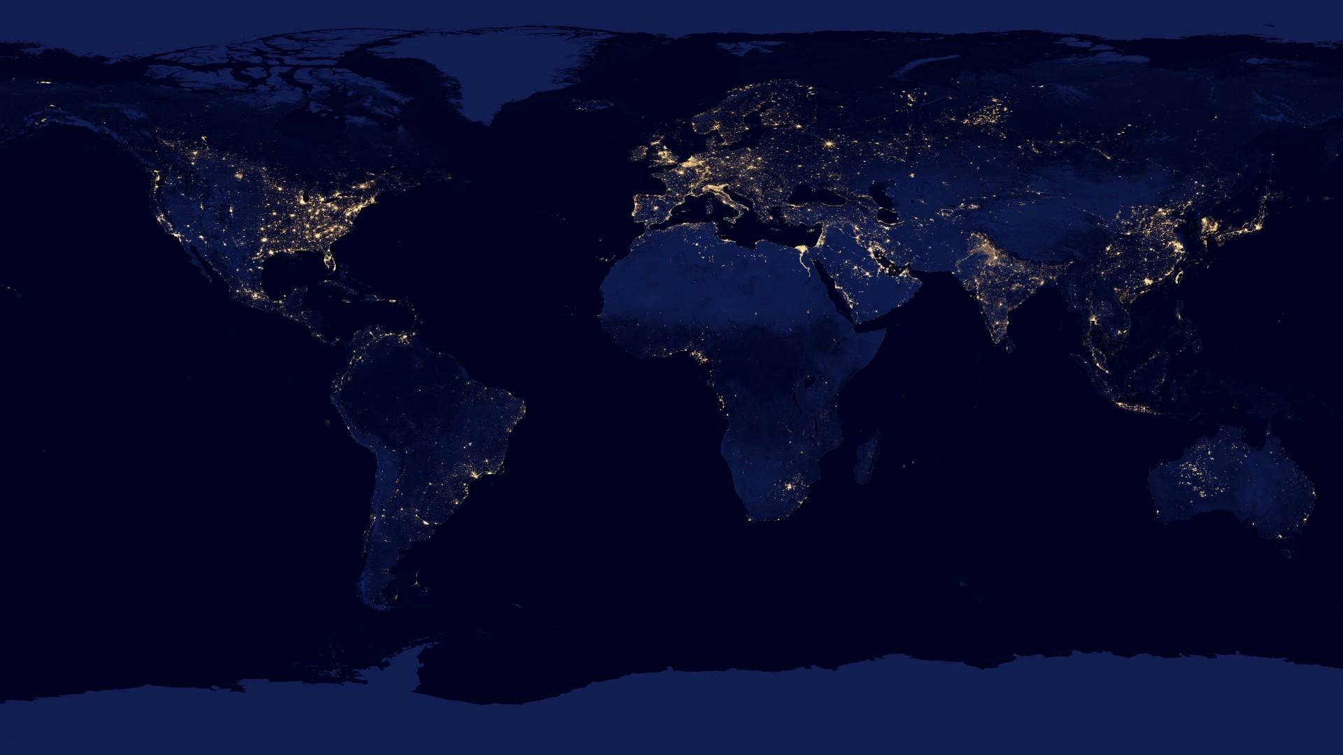 World Map Desktop Wallpaper Free O