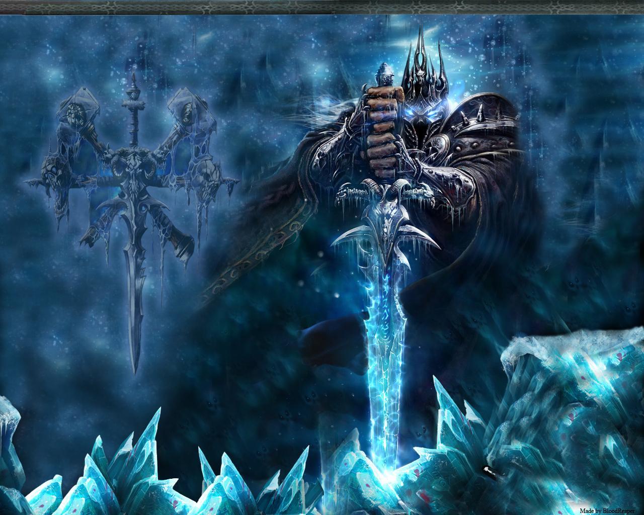 Undead Warlock World Of Warcraft Wallpaper 1280x1024