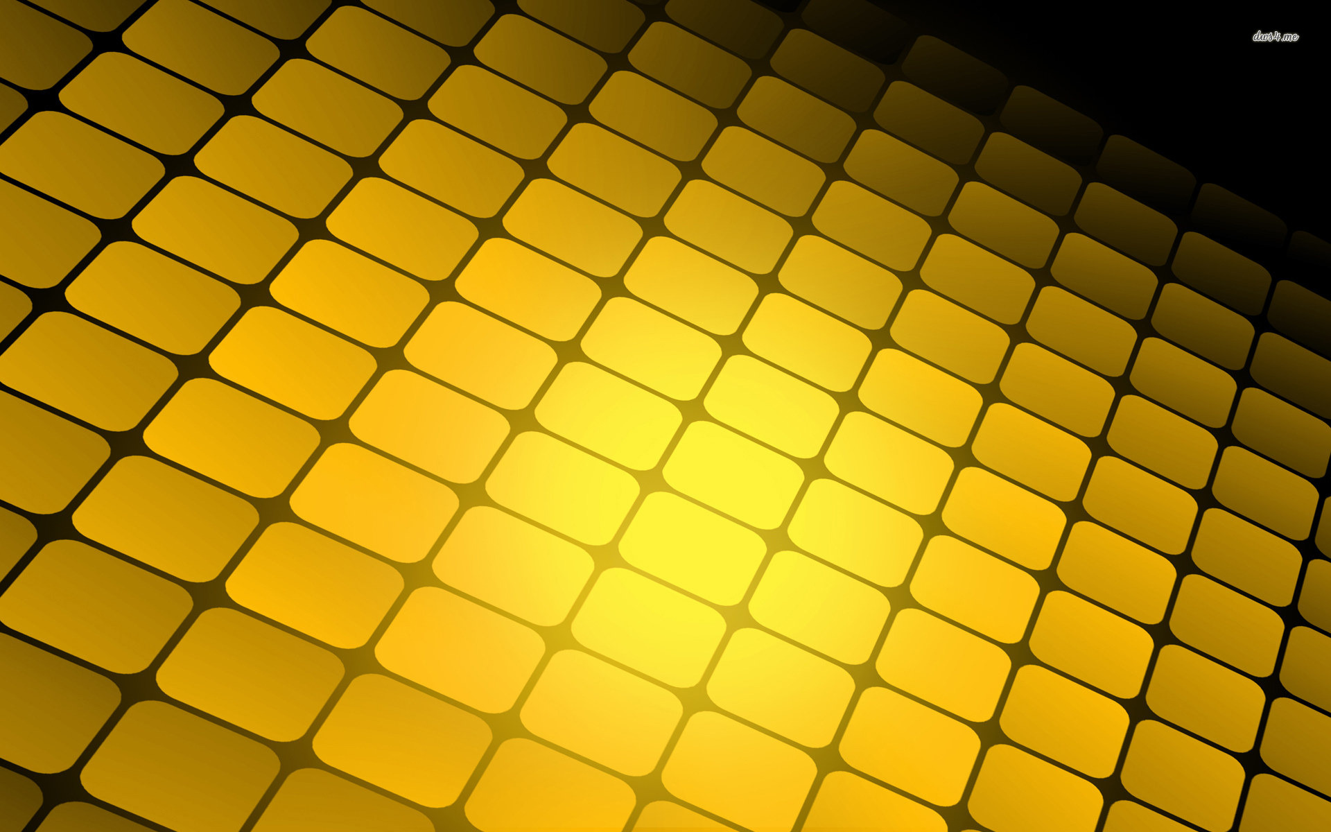Yellow Abstract Wallpaper   1920x1200