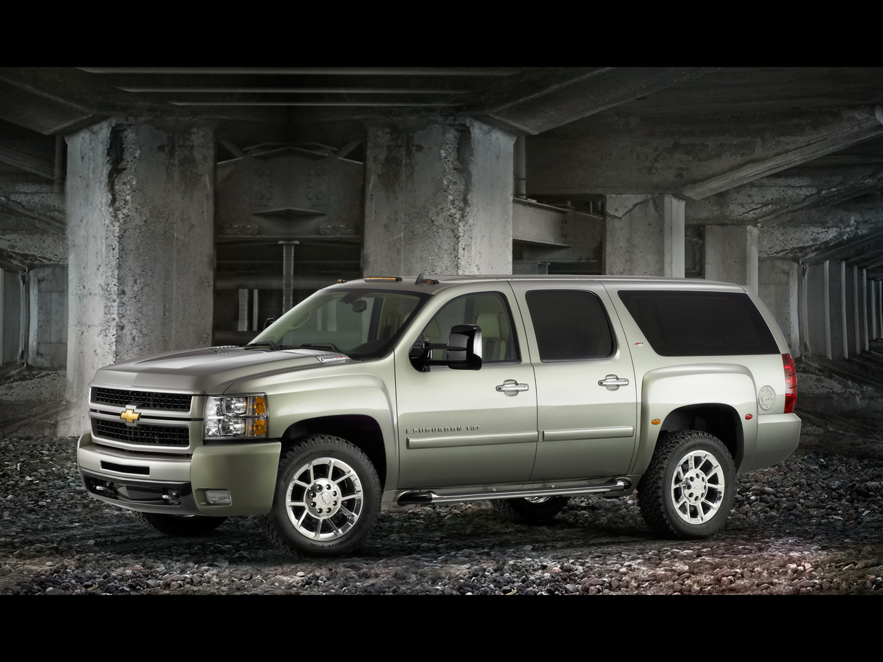 Chevrolet Silverado LT Z Midnight Double Cab  Wallpapers 1280x960