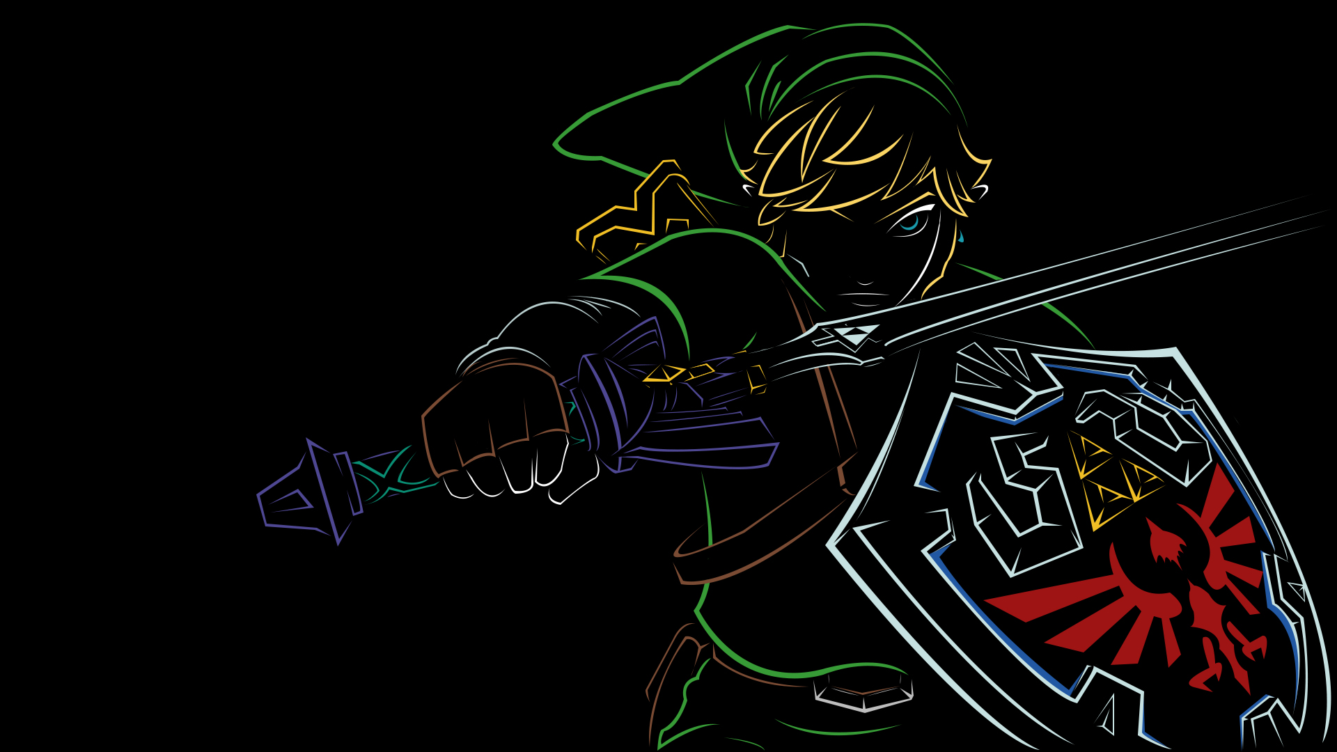Android Htc Sensation The Legend Of Zelda Wallpapers Hd 1920x1080