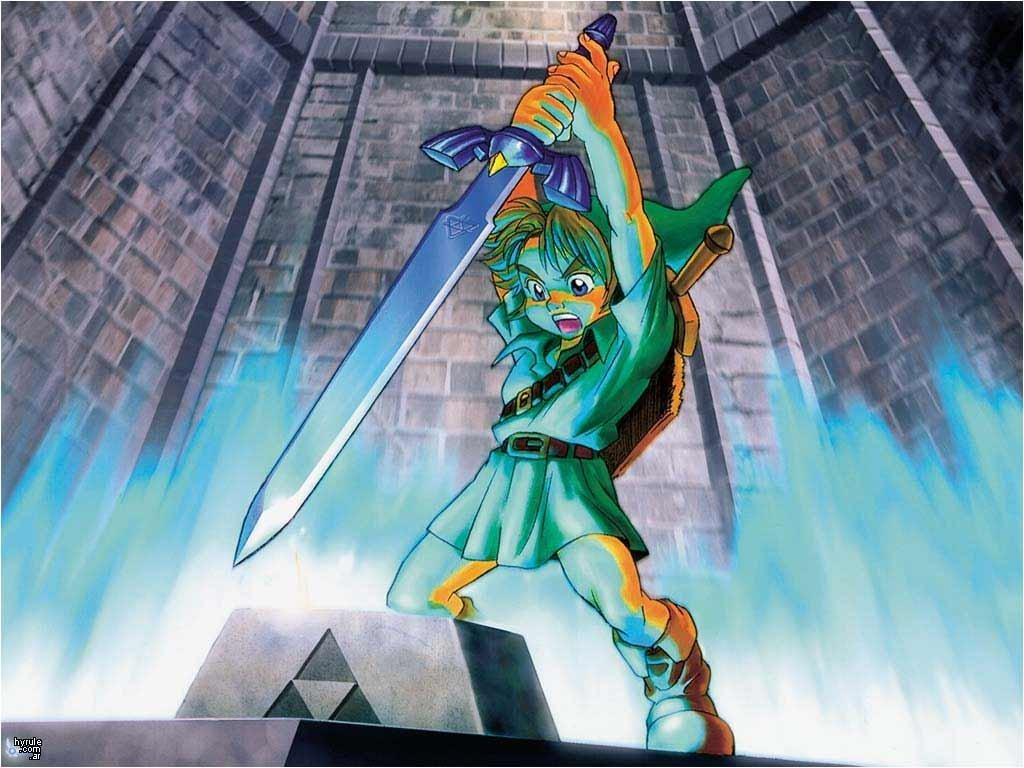The Legend Of Zelda Ocarina Of Time D Hd Desktop Wallpaper 1024x768