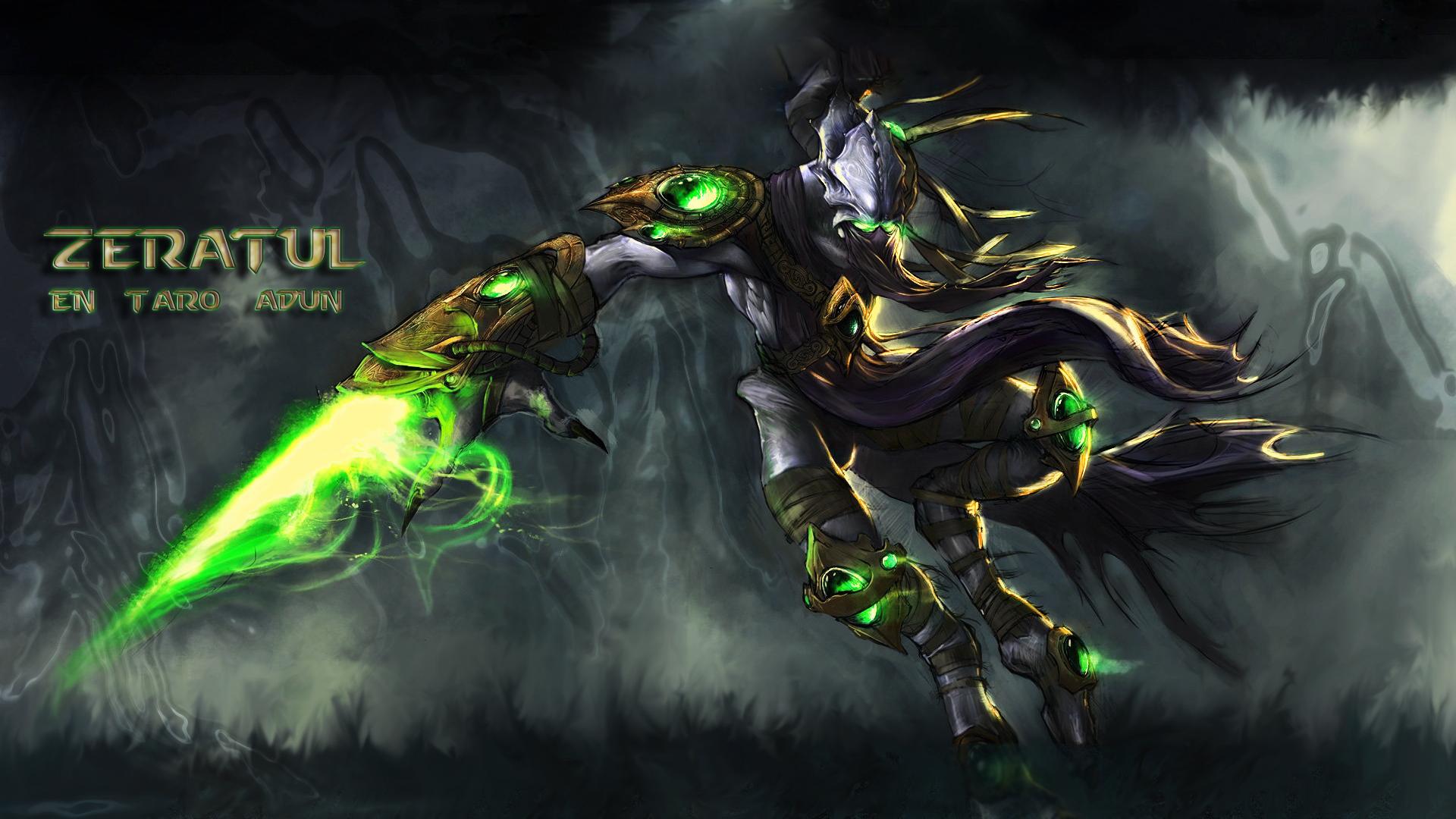Wallpaper Starcraft Warcraft Zeratul Heroes Of The Storm 1920x1080