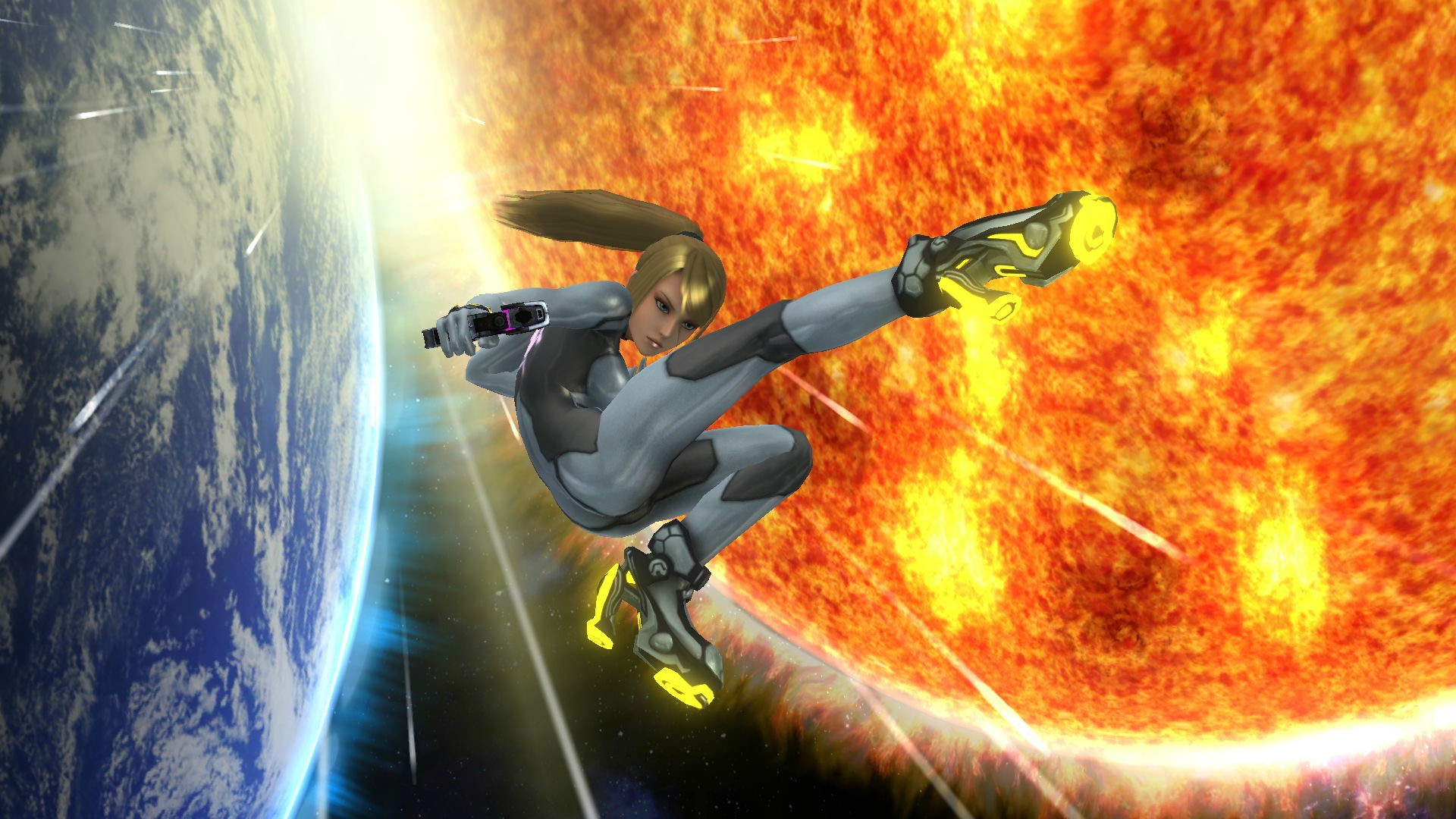 Zero Suit Samus Wallpaper   1920x1080