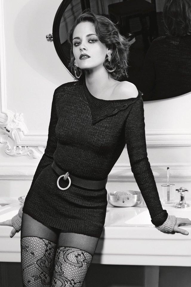 Kristen Stewart in blue dress HD
