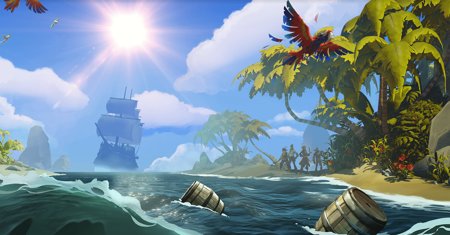 Sea Of Thieves Hd Wallpaper 87 Wallpapers Adorable Wallpapers