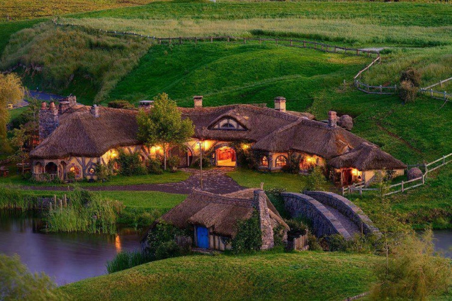 Hobbiton HD Wallpapers Background