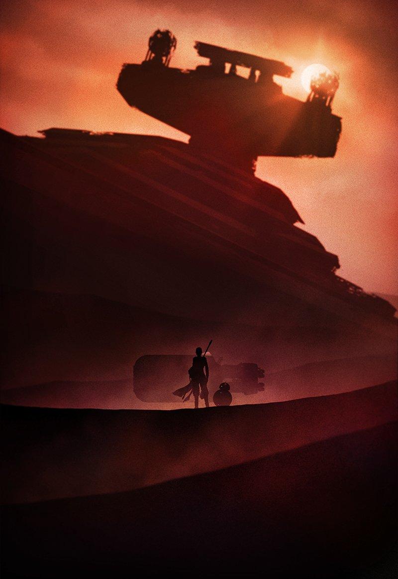 Star Wars Landscape Iphone Wallpaper