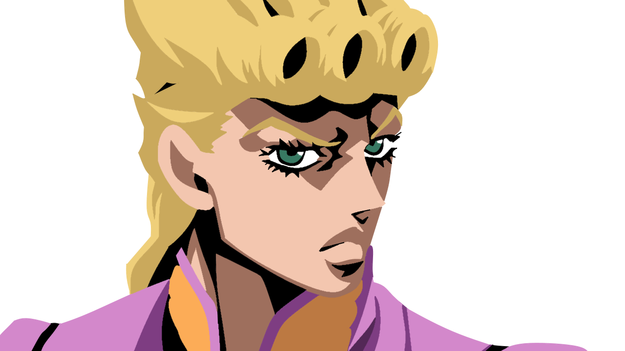 Fanart Smooth Minimalist Giorno but I